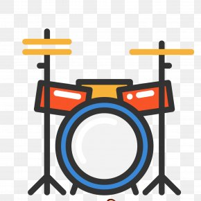 Hand-painted Instrument Jazz Drum Vector Material - Drums Snare Drum Jazz Drumming PNG