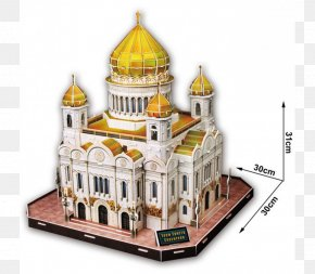 Puzz 3D Jigsaw Puzzles Cathedral Of Christ The Saviour Three-dimensional Space PNG