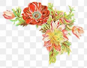 Floral Design Bouquet - Floral Design PNG