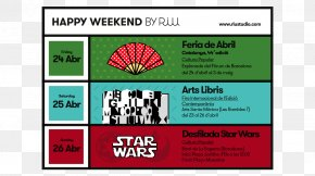HAPPY Weekend - Graphic Design Display Advertising Brand Web Banner PNG