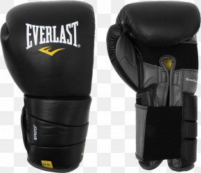 Black Boxing Gloves Image - Boxing Glove Everlast Sports Equipment PNG