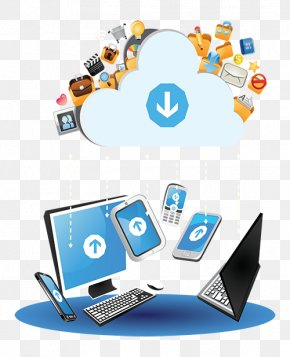Technology Cloud - Computer Network Cloud Computing Software As A Service PNG