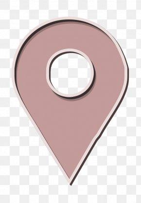 Pink Socialmedia Icon - Directions Icon Location Icon Navigation Icon PNG