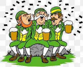 Saint Patrick's Day - Saint Patrick's Day 17 March Animated Film Clip Art PNG