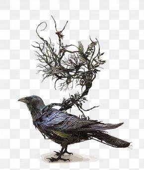 Vector Raven - Sculpture Surrealism Artist PNG