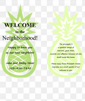 Gift - Neighbourhood Gift Housewarming Party Pineapple Community PNG