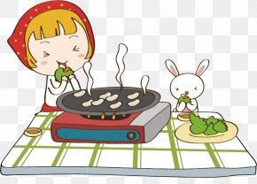 Eat Barbecue Cartoons - Barbecue Churrasco Cartoon PNG