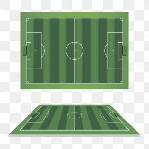 Vector Football Field Image - Football Pitch Euclidean Vector Vecteur PNG