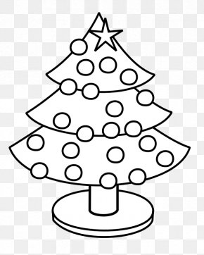 Christmas Tree Drawing S - Rudolph Christmas Tree Coloring Book PNG