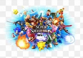 Super Smash Bros Logo Transparent - Super Smash Bros. For Nintendo 3DS And Wii U Mario Bros. Super Smash Bros. Melee PNG