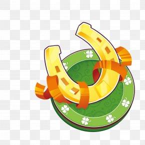 St. Patrick's Day Fine Label Vector Material - Saint Patrick's Day Symbol Clip Art PNG