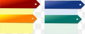 Creative Color Text Box Vector Material - Text Box Arrow PNG