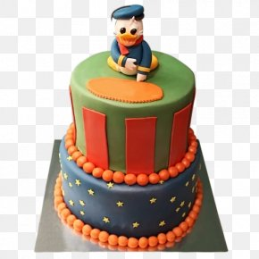 Donald Duck - Birthday Cake Torte Donald Duck Mickey Mouse Fruitcake PNG