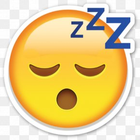 Emoji - Emoji Emoticon Fatigue Smiley Sleep PNG
