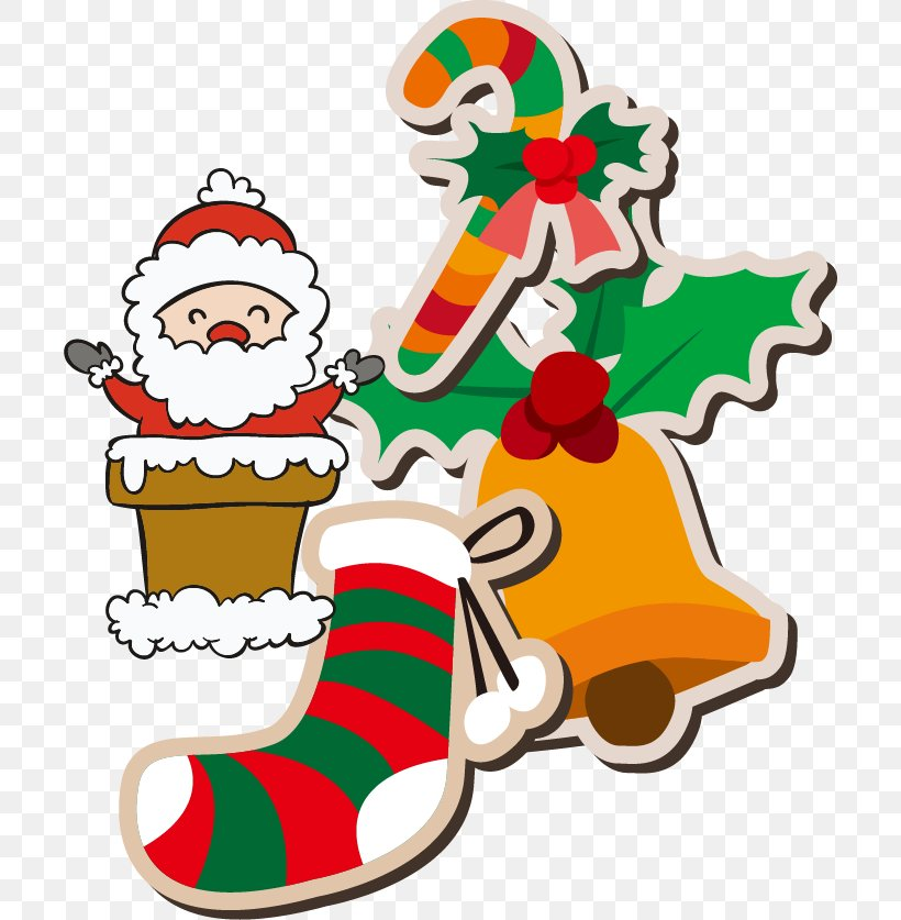 Santa Claus Christmas Ornament Clip Art, PNG, 704x837px, Santa Claus, Artwork, Bell, Christmas, Christmas Decoration Download Free