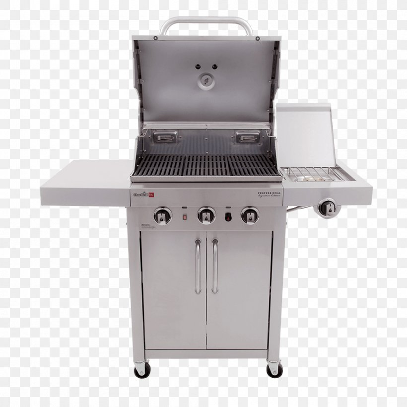 Barbecue Grilling Char-Broil 3 Burner Gas Grill Brenner Char-Broil TRU-Infrared 463633316, PNG, 1000x1000px, Barbecue, Bbq Smoker, Brenner, Charbroil, Charbroil 3 Burner Gas Grill Download Free