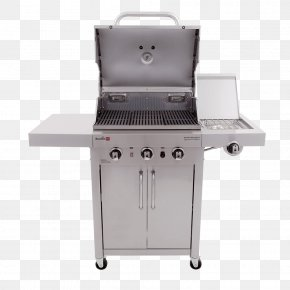 Barbecue - Barbecue Grilling Char-Broil 3 Burner Gas Grill Brenner Char-Broil TRU-Infrared 463633316 PNG
