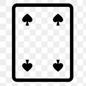 Spade - Espadas Playing Card Ace Of Spades PNG