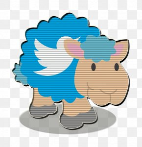 Cartoon Twitter Icon - Sheep Icon Social Network Icon Twitter Icon PNG