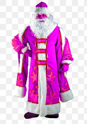 Claus Santa Claus Costume - Ded Moroz Snegurochka Santa Claus Costume Carnival PNG