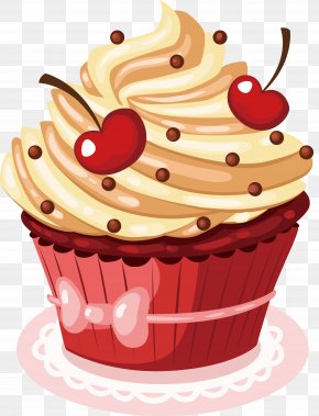 Cherry Cake Vector - Happy Birthday To You Wish Greeting Card PNG