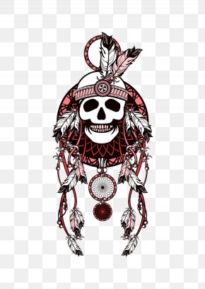 Skeleton Wind Chimes - War Bonnet Indigenous Peoples Of The Americas Drawing Stock Photography PNG