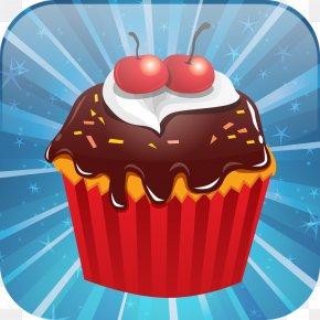 Cup Cake - Cupcake Muffin Dessert Chocolate Ice Cream PNG