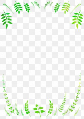 Spring Season.Others - Leaf Frame PNG