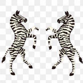 Two Zebra Cartoon Vector - Coat Of Arms Of Botswana Coat Of Arms Of Botswana Heraldry PNG