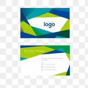 Elegant Business Card Template Design - Business Card Logo PNG
