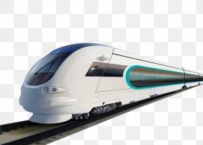 Train - Train Rail Transport Commuter Rail Rapid Transit High-speed Rail PNG