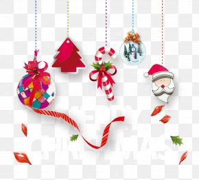 Christmas Ornaments Design Material - Santa Claus Christmas Folk Costume Party PNG