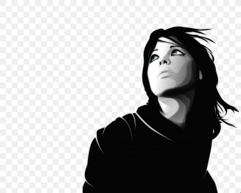 Scarlett Johansson Black And White Face Wallpaper Png