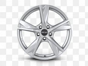 Silver - Alloy Wheel Autofelge Silver Car Spoke PNG