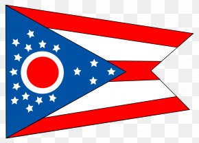 Youtube Play Button - Flag Of Ohio Flag Of The United States State Flag PNG
