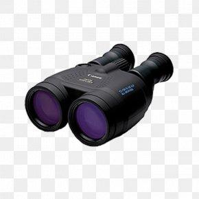 Binoculars - Image Stabilization Image-stabilized Binoculars Canon Binocular 15x50 IS AW Hardware/Electronic PNG