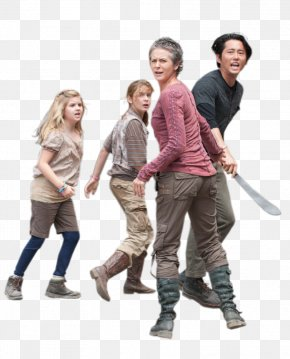 Apocalypse Infographic - Glenn Rhee Daryl Dixon Lizzie And Mika Samuels Television Show Illustration PNG