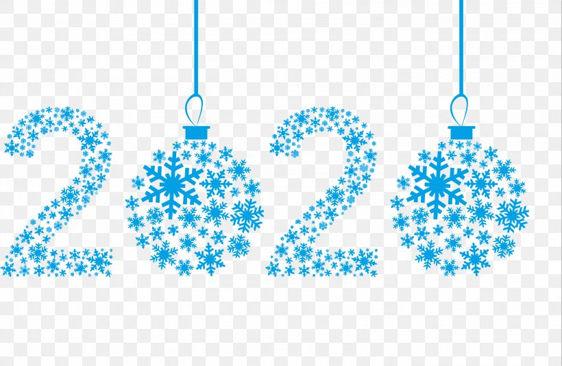 Happy New Year 2020 Happy 2020 2020, PNG, 2999x1956px, 2020, Happy New Year 2020, Aqua, Blue, Christmas Ornament Download Free