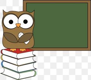Teacher Cliparts Transparent - Owl Teacher Online Writing Lab Clip Art PNG