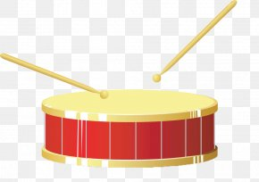 Hand-painted Gold Drums - Drum Royalty-free Illustration PNG