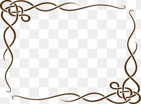 Brown Border Frame Photos - Border Clip Art PNG