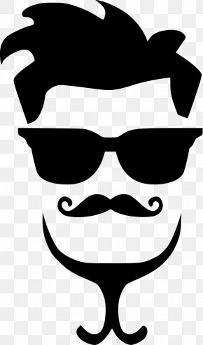 Hair Style - Hairstyle Moustache Clip Art PNG