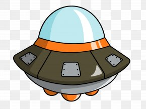Alien Spaceship Cliparts - Flying Saucer Cartoon Spacecraft Unidentified Flying Object Clip Art PNG