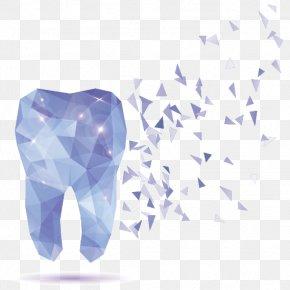 Crystal Teeth Vector - Human Tooth Dentistry PNG