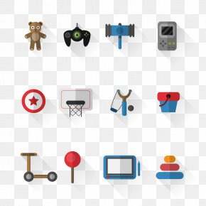 12 Exquisite Toys Icon Vector Material - Toy Euclidean Vector Icon PNG