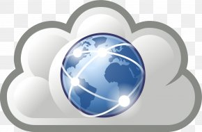 Cloud Service Cliparts - Internet World Wide Web Clip Art PNG