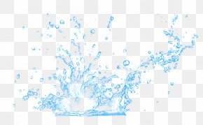 The Effect Of Water Splashes - Water Aerosol Spray PNG