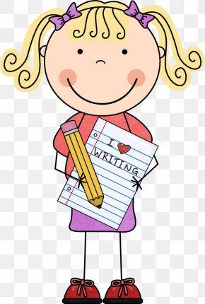 Kindergarten Center Cliparts - Writing Child Reading Clip Art PNG