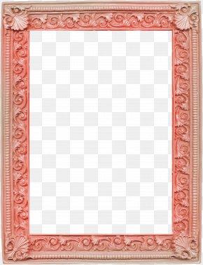 Orange Pattern Frame - Picture Frame Decorative Arts Digital Photo Frame PNG