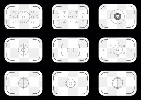 Digital Camera Viewfinder - Stock Illustration Icon PNG